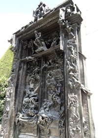 The Gates of Hell Auguste Rodin Paris