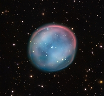 The ghost of a dying star  the Southern Owl Nebula
