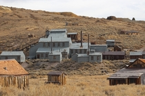 The ghost town of Bodie California