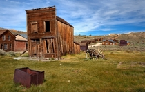The ghost town of Bodie California  by Cat Burton
