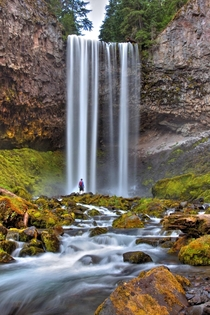 The Giants Around us Tamanawas Falls Oregon - by Michael_Goesoutside