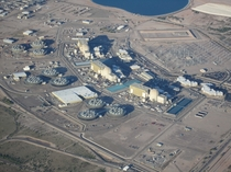 The  gigawatt  reactor Palo Verde Nuclear Generating Station near Tonopah Arizona