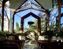 The Glass Church by Lloyd Wright