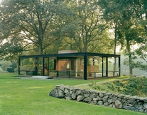 The Glass House - Philip Johnson  New Canaan CT
