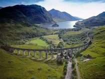 The Glenfinnan Viaduct amp Railway Lochaber Scotland