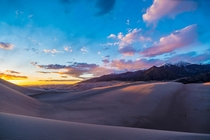 The Golden Hour at The Great Sand Dunes National Park Colorado