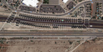The Goldman Ranch Development outside of Phoenix was built in  in a known right of way for the future Arizona Loop  The neighborhood was razed in  All that remains is the Zillow data