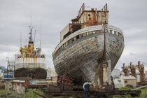 The Google listing of Old rusty boat exceeded expectations - Akarnes Iceland