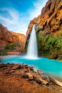 The Gorgeous Havasu Falls