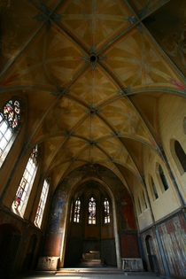 The gorgeous monastery of Nazi atrocities