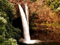 The gorgeous Wailua Falls - Kauai Hawaii