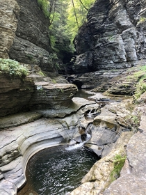 the gorges at watkins glen state park in ny