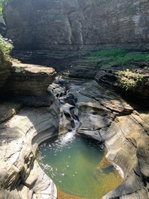 The Gorges Natural Carvings Watkins Glen State Park Upstate New York x