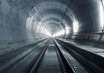 The Gotthard Base Tunnel in Switzerland to be opened next year is the worlds longest rail tunnel with km  miles