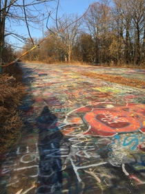 The Graffiti Highway - Centralia PA