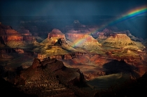 The Grand Canyon after rain