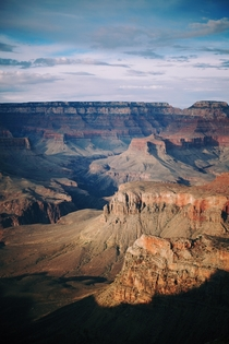 The Grand Canyon at Twilight