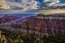 The Grand Canyon from the North Rim -