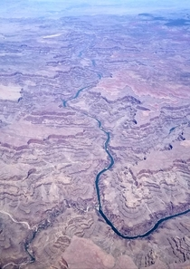 The Grand Canyon from the sky