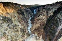 The Grand Canyon of Yellowstone Artists Point Yellowstone National Park WY