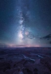 The Grand Canyon Under the Milky Way - Dead Horse Point State Park