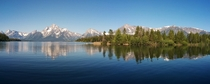 The Grand Tetons   x