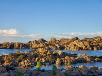 The Granite Dells in Prescott AZ