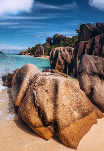 The granite in the Seychelles has something magical  IG guidobarzano