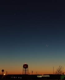 The Great Conjunction from Norman Oklahoma