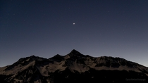 The Great Conjunction of Saturn and Jupiter over Wilson Peak - Telluride CO