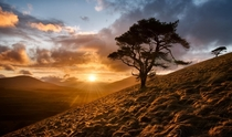 The Great Mell Fell of northern England  photo by Joe Stockdale