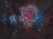 The great nebula in the Orion constellation