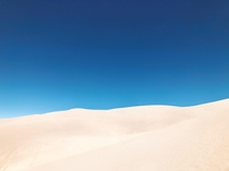 The Great Sand Dune National Park
