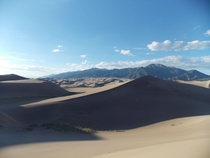 The Great Sand Dunes Colorado