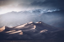 The Great Sand Dunes in Colorado are something truly special Every time I photograph it feels so different  by danielbenjaminphoto