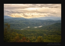 The Great Smoky Mountains from the Foothills Parkway  Photo taken by myself Mary Davis