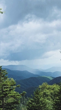 The Great Smoky Mountains Gatlinburg TN -Clingmans Dome