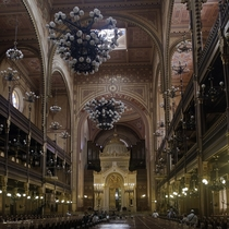 The Great Synagogue of Budapest Hungary