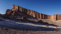 The Great Walls of Valle de Lunar - Chile