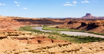 The Green River meandering through Canyonlands NP