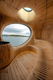 The Grotto a sauna in Toronto Designed by Partisan Architects