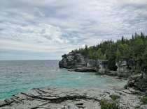The Grotto on Bruce Peninsula Ontario