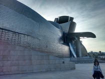 The Guggenheim Bilbao architect Frank Gehry