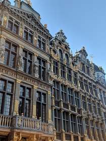 The Guild Houses at Grand Place Brussels