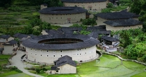 The Hakka Tulou a type of Chinese rural dwellings exhibits its unique characteristic as a model of community housing for equals in Fujian Province China