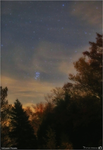 The Halloween Pleiades Messier