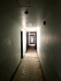 The Hallway to the Jail Cells of the Rideau Correctional Center