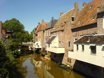 The Hanging Kitchens in Appingedam The Netherlands