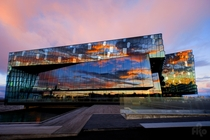The Harpa Concert Hall Reykjavk -- Henning Larsen Architects  photo by Frank Kaiser x-post rIsland