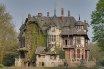 The Haunted Chateau Nottebohm in Belgium Photo by MGness